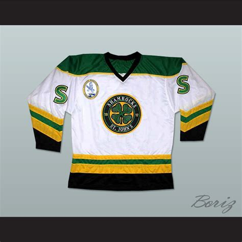Goon M 62 L 50 Xl 44 36 ross the rhea st s shamrocks hockey jersey with