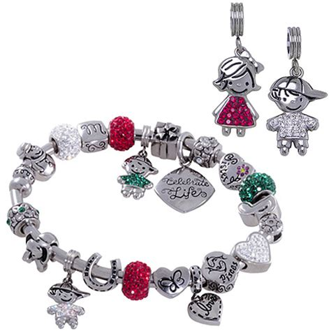 hallmark charm bracelet connections from hallmark birthstone boy and charm 3