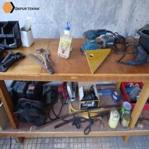 Meja Workshop cara membuat kusen pintu dan kusen jendela dari kayu