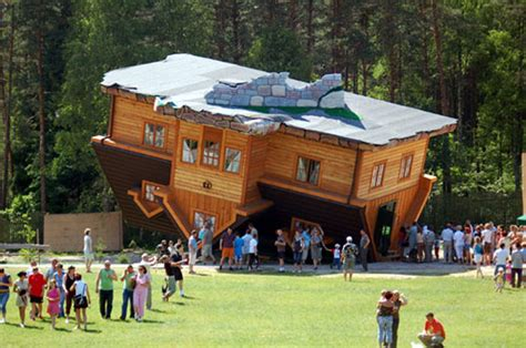 upside down house poland lottravel poland