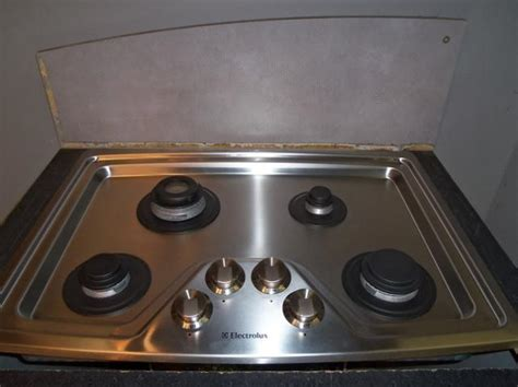 electrolux 30 gas cooktop electrolux 30 quot 4 sealed burner gas cooktop ew30gc55gs1