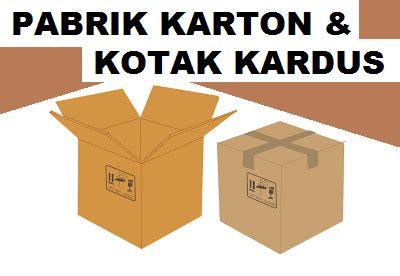Teh Kotak Per Kardus pabrik kardus karton box tangerang lengkap alamat jabodetabek