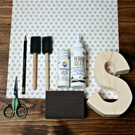 How To Decoupage Paper On Wood - 25 best ideas about wood scrapbook paper on