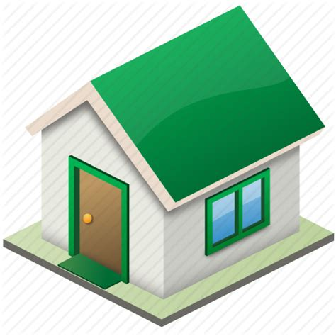 Small Icon For Home Building Construction Estate Home House Lease Live