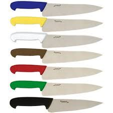 Coloured Kitchen Knives by 200mm Giesser Colour Coded Chef Knife Coloured Chef