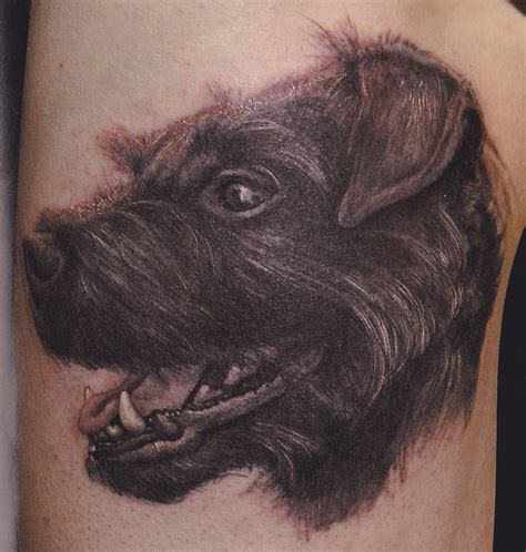 dog with tattoo big paws spot tattoos of dogs