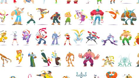 from street fighter main character name all 57 street fighters together at last kotaku australia