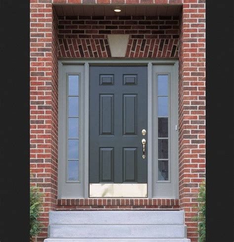 red brick house door colors 25 best ideas about red brick exteriors on pinterest