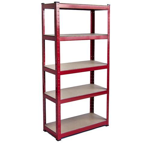 industrial storage shelves 5 tier shelf shelving unit racking boltless industrial storage shelves large ebay