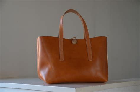 Leather Carrier Bag For The Who Has Everything by Be Cause Bag Leather Tote Bag Project Be Cause Style