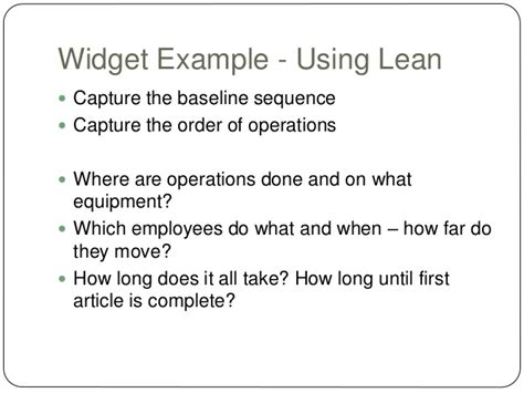 How Does It Take To Complete An Mba by Lean Manufacturing Overview Mba Consulting Class