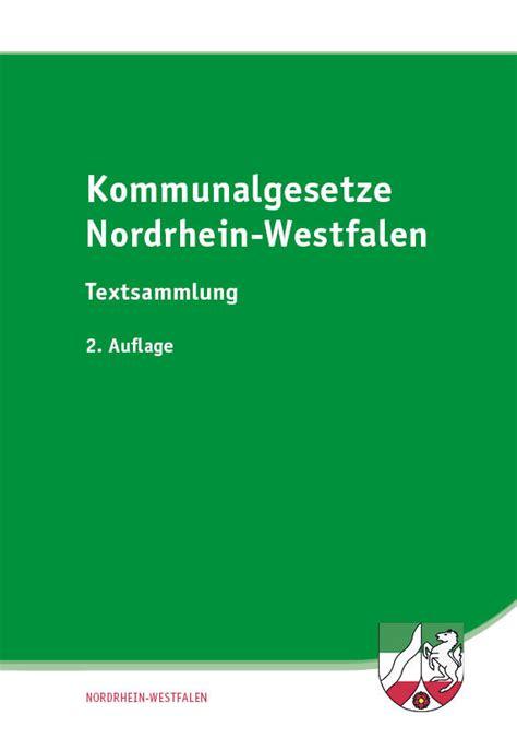 wann sind herbstferien in nordrhein westfalen kommunalgesetze nordrhein westfalen