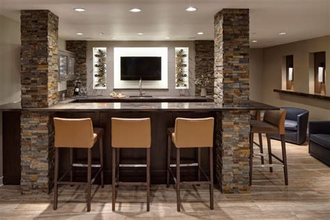 rec room bar rec room re imagined rustic home bar chicago by drury design