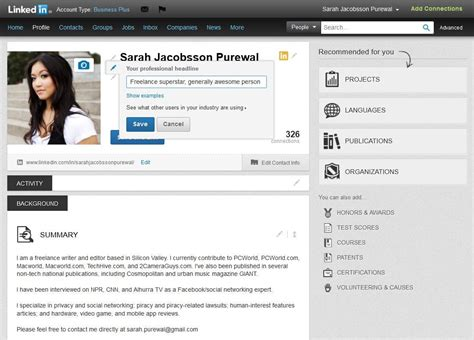 Linkedin Title For Mba Seeker by How To Become A Linkedin Power User In Five Easy Steps