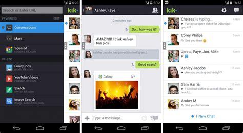 kik android app de mensajer 237 a android kik im 225 genes y fotos