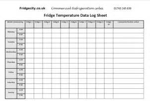 4 best images of food temp log or chart refrigerator