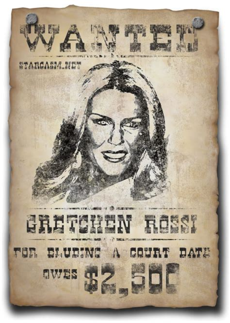 can a bench warrant be served in another state another arrest warrant issued for gretchen rossi in jay