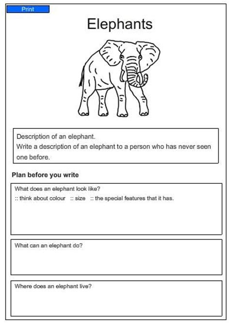 description elephants studyladder interactive learning