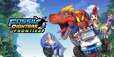 fossil fighters fossil fighters frontier nintendo 3ds nintendo