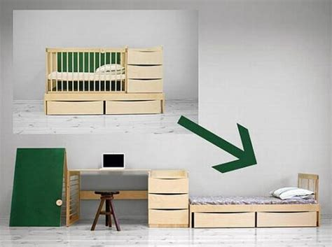 Desk Converts Into Bed 33 Transforming Furniture Ideas For Kids Room