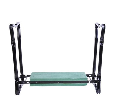knee bench outsunny folding garden kneeler bench chair green