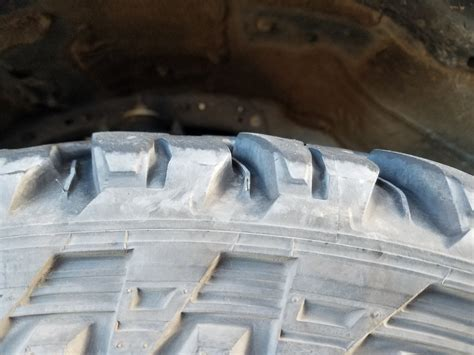 tire cupping wear