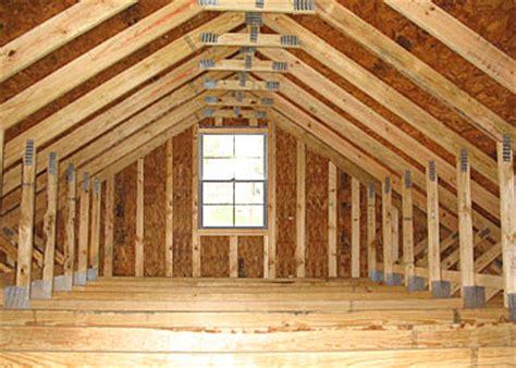 barn loft construction building garage loft