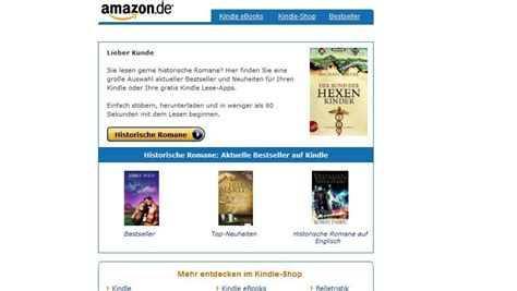 amazon si鑒e gef 228 hrliche intrigen in der amazon email werbung emily bold