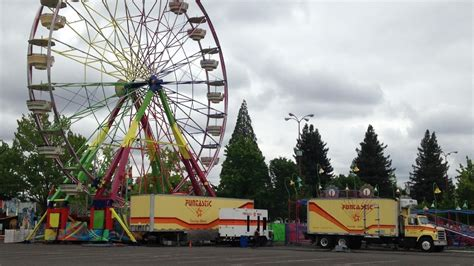 in a wide lane ride 3 or 4 feet to the right of cars 5 who oversees carnival ride inspection in oregon and