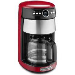 kitchenaid coffee maker empire 14 cup glass carafe