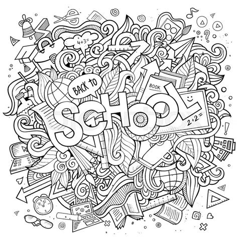 doodle academy drawings doodles school illustration