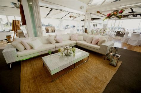 Wedding Outdoor Furniture Hire by Gallery Perth Hire