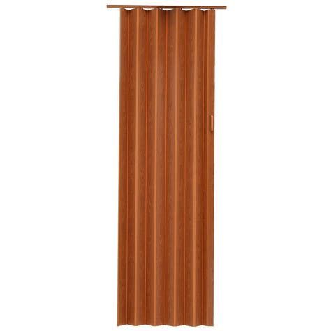 Spectrum Accordion Doors by Spectrum Express One 48 In X 96 In Vinyl Fruitwood