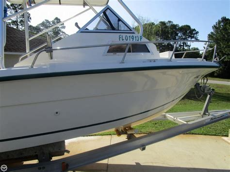 angler 204 boat 1998 used angler 204 walkaround fishing boat for sale