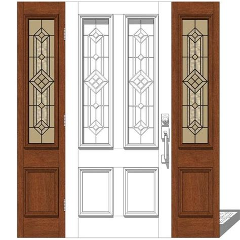 Jeld Wen Entry Doors by Jeld Wen Exterior Door Set 1 3d Model Formfonts 3d