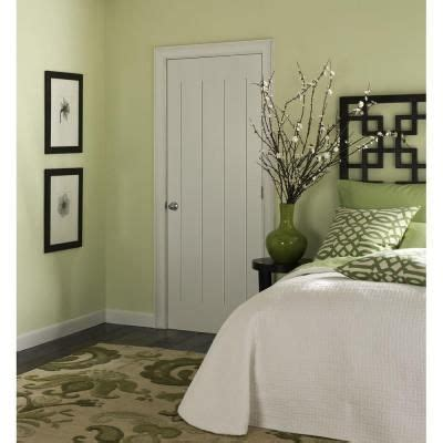 Home Depot Interior Doors Prehung by Masonite 24 In X 80 In Saddlebrook Smooth 1 Panel Plank