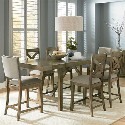 7 counter height dining room sets counter height 7 dining room table set by standard furniture wolf and gardiner wolf