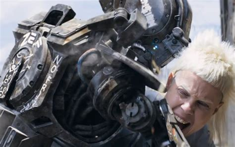 film robot south africa new chappie trailer more robot trouble for hugh jackman