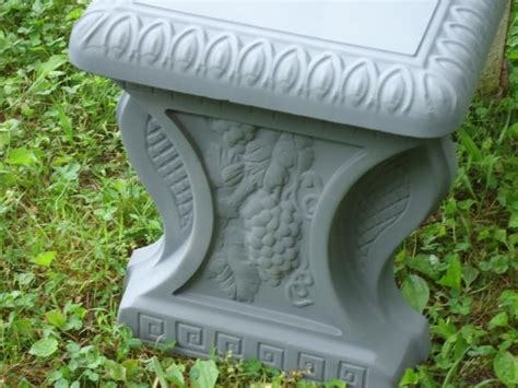 cement bench molds cement concrete bench molds 2 pc set concrete molds top