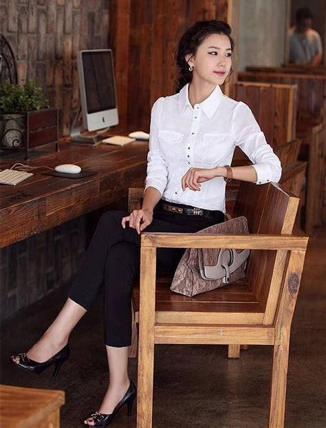 Jumbo 2025 Bahan Import Quality Fit To Xl kemeja kerja wanita import putih ukuran besar model