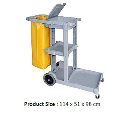 Simple Trolley Janitor Cart Daftar Harga Alat Cleaning Service 2016 021 22866584