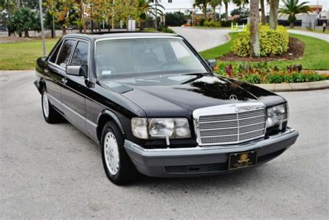 how can i learn about cars 1990 mercedes benz w201 engine control sell used simply stunning original 1990 mercedes benz 560 sel low miles and outstanding in