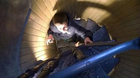alla cupola di san pietro scala a chiocciola negli ultimi tratti della salita alla