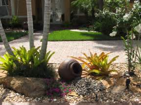 Rock Garden Miami Tropical Rock Garden Tropical Landscape Miami