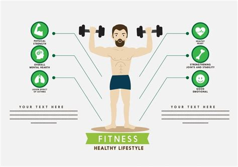 gym layout design software free download fitness infographic male playing gym and icons design free
