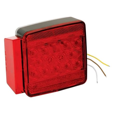 wesbar boat trailer tail lights wesbar 174 80 quot submersible led combo tail light