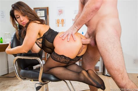 Hot Raven Hart Has Anal Sex Wearing Black Lingerie 1 Of 2