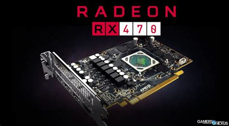 Pc Gaming Amd Rx 470 amd rx 470 rx 460 specs new release date