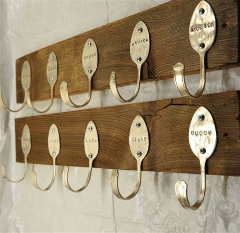 cute coat hooks spoon art and crafts make diy spoon art and crafts