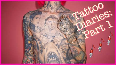 jeffree star tattoos the jeffree diaries part 1
